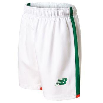 New Balance FAI Ireland Home Shorts 17/18 Kids - WT White
