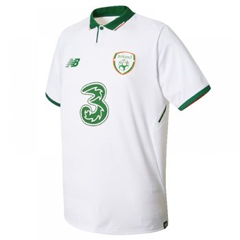 New Balance FAI Ireland Away S/S Jersey 17/18 Adults - White