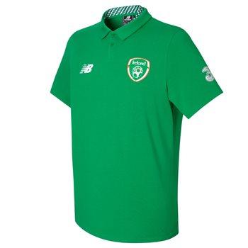 New Balance FAI Ireland Mens Polo 17/18 - Green