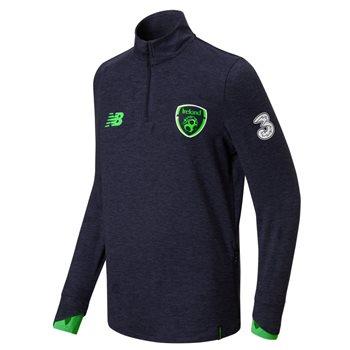 New Balance FAI Ireland Midlayer Top 17/18 - Navy