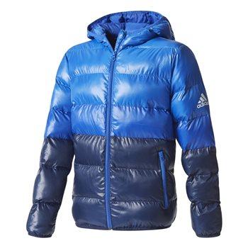 4dfce24ea094 Adidas Boys BTS Hooded Jacket - Royal Navy