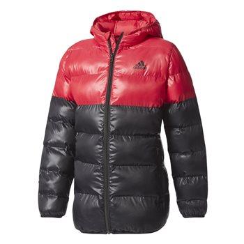 46370375a Adidas Girls BTS Hooded Jacket - Black/Pink | AllSportStore.com