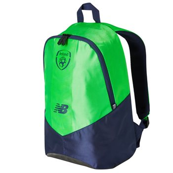 cef5cce41 New Balance FAI Ireland Backpack 17/18 - Green/Navy | AllSportStore.com