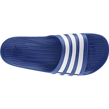 Adidas Mens Duramo Slide - Royal/White