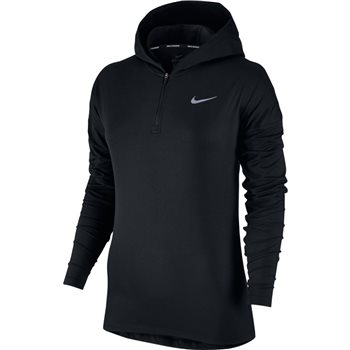 Nike Womens Dry Element Hoodie - Black  - Click to view a larger image