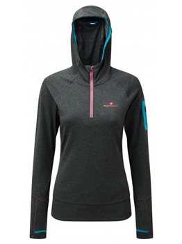 RonHill Womens Victory Hoodie - Charcoal