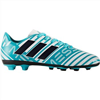 93a0b82a701a Adidas Nemeziz Messi 17.4 FxG Boots - Kids - Sky White - Click to view