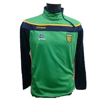 ONeills Donegal GAA Slaney SZ Squad Top - Emer/Navy/Amber