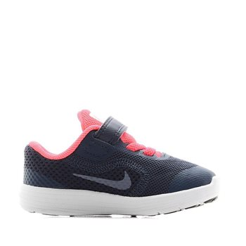 c3b93f471e4 Nike Revolution 3 TDV (Toddler Velcro) - Navy Pink - Click to view