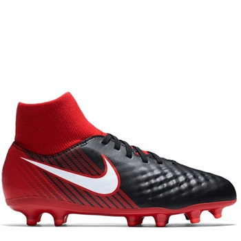 size 40 6354f 95c1e Nike Kids Magista Onda II DF FG - Black Red White - Click to