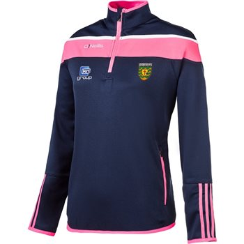 ONeills Donegal GAA Lene HZ Squad Top - Pink/White  - Click to view a larger image