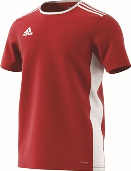 2bb85db33fd Adidas Entrada 18 Jersey - Power Red/White | AllSportStore.com