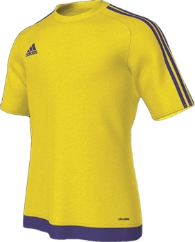 8f19de6ce Adidas Estro 15 Jersey - Yellow/Bold Blue - Click to view a larger image
