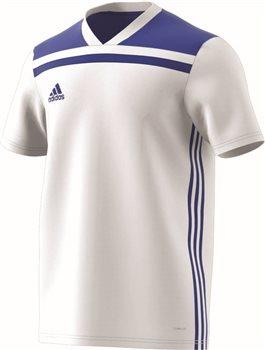 a68cbe336f3 Adidas Regista 18 Jersey - White/Bold Blue   AllSportStore.com