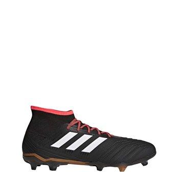 171358c7632f Adidas Predator 18.2 FG Firm Ground Boots - Black/White/SolarRed ...
