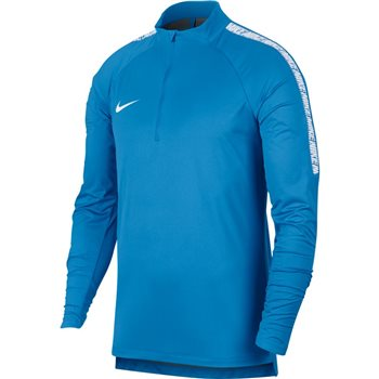 Nike Mens Shield Squad Drill Top - Royal