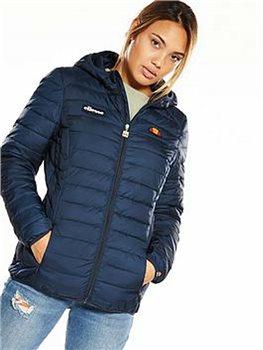 Padded Lompard Navy Ellesse Jacket Womens FzUwXx