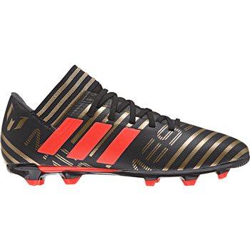 9f50d9497 Adidas Nemeziz Messi 17.3 FG J Kids - Black SolRed Gold ...
