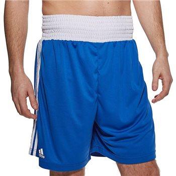 Independencia semestre Mordrin  Adidas Boxing Boxing Shorts (Slim Fit) - Royal/White AllSportStore.com