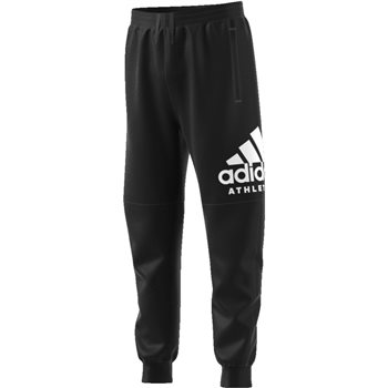 94f27213034a Adidas Boys Sports ID Track Pant - Black White - Click to view a larger