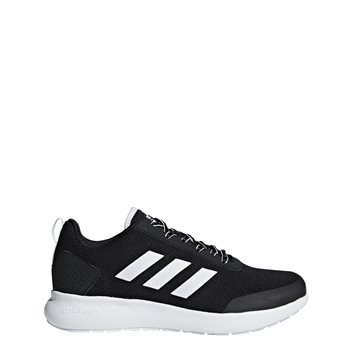 47ca605aef38 Adidas Womens Cloudfoam Element Race W - Black White - Click to view a  larger