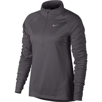 Nike Womens Core 1/2 Zip Midlayer - Grey  - Click to view a larger image