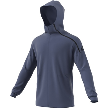 Adidas Mens ZNE Hoody 2 - Navy  - Click to view a larger image