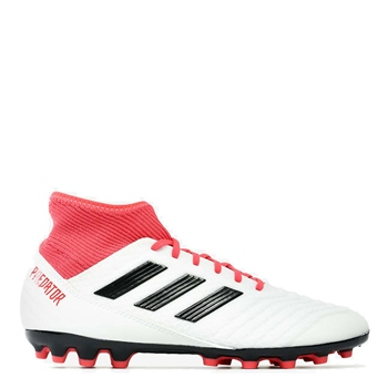 b02727f35e67 Adidas Predator 18.3 AG Football Boots - White Red Black - Click to view
