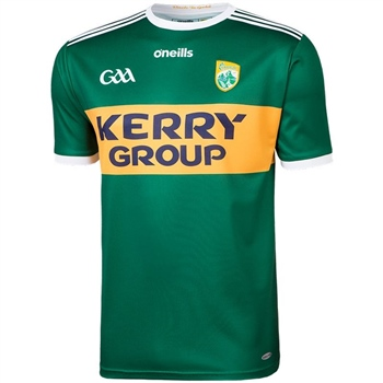 ONeills Kerry GAA Home Jersey 2019 - Green/Gold