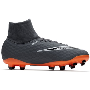 meet 70f02 9332f Nike JR Hypervenom 3 Academy DF FG - Grey Orange Black - Click to