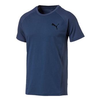 Puma Mens Evostripe Move T-Shirt - Navy