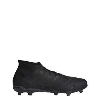 b60083755 Adidas Predator 18.2 FG Boots - Black Black - Click to view a larger image