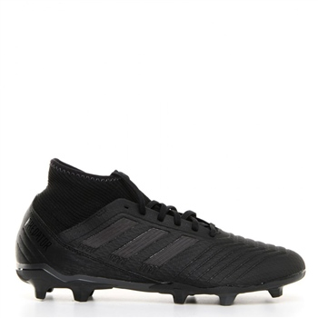 details for new authentic size 40 Review Adidas Predator 18.3 FG Boots - Black/Black ...