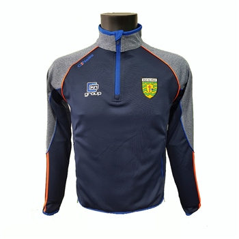 ONeills Donegal GAA Dillon HZ Squad Top - Marine/Royal/Orange  - Click to view a larger image