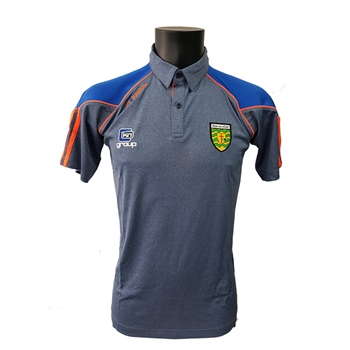 ONeills Donegal GAA Dillon Polo - Marine/Royal/Orange  - Click to view a larger image