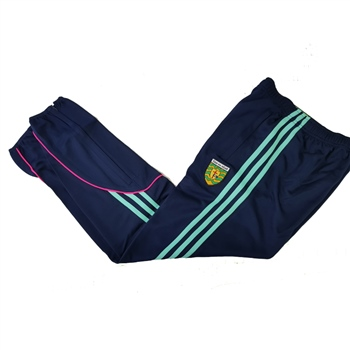 ONeills Donegal GAA Dillon Skinny Pants - Womens - Marine/Pink/Honeydew  - Click to view a larger image