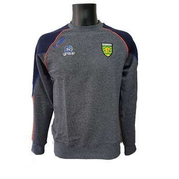 ONeills Donegal GAA Dillon Sweat Top - Marine/Royal/Orange  - Click to view a larger image
