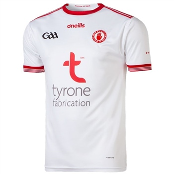 ONeills Tyrone GAA Home Jersey 2018 - White/Red