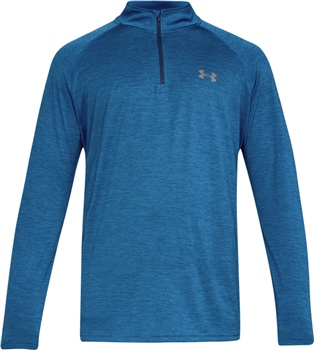 Under Armour Tech 1/4Zip Top HG - Blue Marl