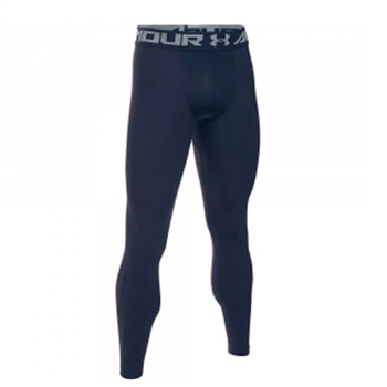 Under Armour Mens Armour 2.0 Leggings - Navy
