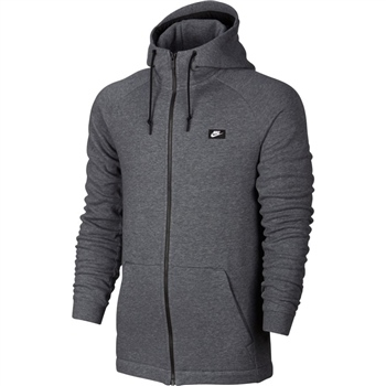 Nike Mens Modern Full Zip Hoodie - Grey  - Click to view a larger image
