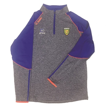 ONeills Donegal GAA Dillon Brushed HZ Top - NavyMarl/Royal/Orange  - Click to view a larger image