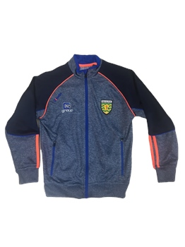 ONeills Donegal GAA Dillon FZ Squad Jacket - NavyMarl/Royal/Orange