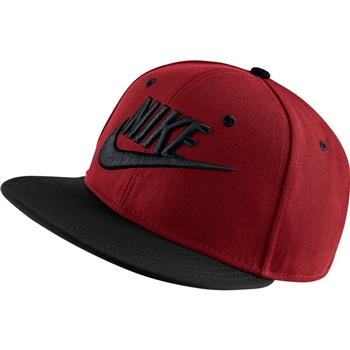 timeless design aea3c 3cca7 Nike Kids True Cap Futura - Red Black - Click to view a larger image