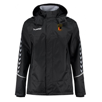 Clane United FC Authentic Charge All Weather Jacket - Black  - Click to view a larger image
