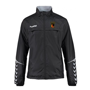 Clane United FC Authentic Charge Functional Jacket - Youth -Black  - Click to view a larger image