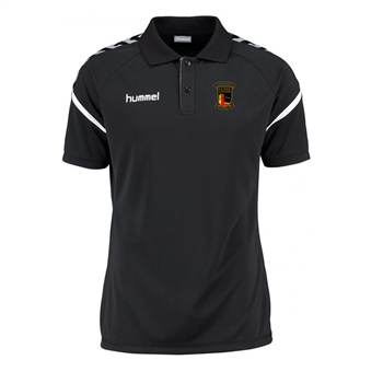 Clane United FC Authentic Charge Polo - Black  - Click to view a larger image