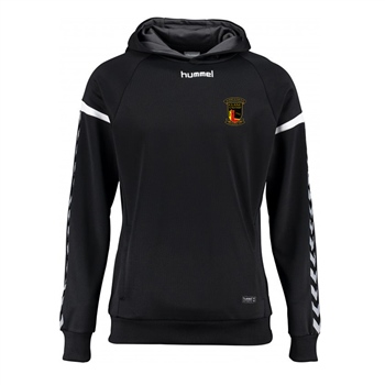 Clane United FC Authentic Charge Poly Hoodie - Youth -Black  - Click to view a larger image