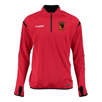Clane United FC Authentic Charge Training Sweat - Youth -True Red  - Click to view a larger image