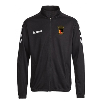 Clane United FC Core Poly Jacket - Black  - Click to view a larger image